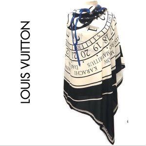 RARE&VINTAGE Louis Vuitton Gae Aulenti Scarf/Wrap